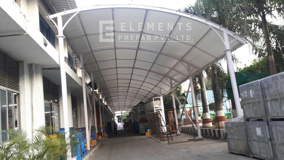 Alicon, Tensile Fabric Shed